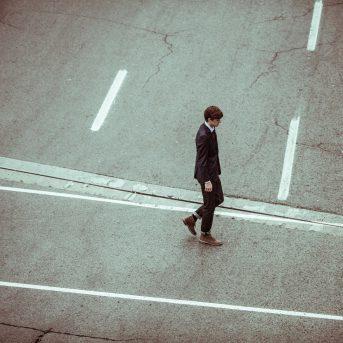 Verkeersongeval fietser en voetganger
